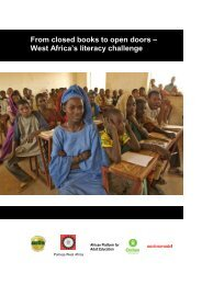 From closed books to open doors – West Africa's literacy ... - INEE