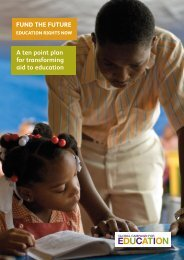 Fund the Future: Education Rights Now - Global Campaign for ...