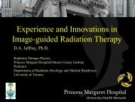Experience and Innovation in Image-Guided Therapy