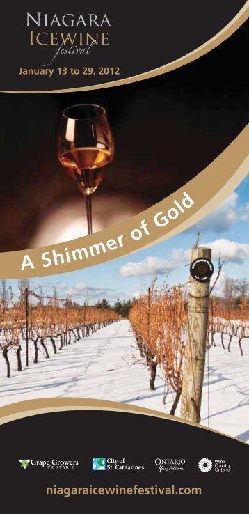 January 13 to 29, 2012 - Niagara Wine Festival
