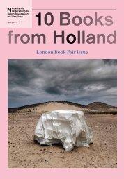 10 Books from Holland - Nederlands Letterenfonds