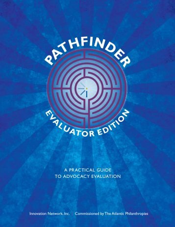 Pathfinder: A Practical Guide to Advocacy Evaluation - Innovation ...