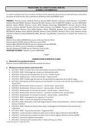 Conseil municipal du 11 septembre 2012 - Joigny