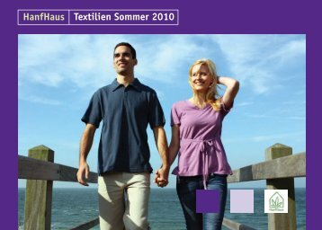 HanfHaus Textilien Sommer 2010