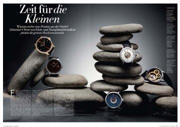 Magazin Z - Hess Uhren