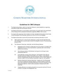 Cmi Yearbook 1999 Comite Maritime International