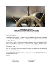 MLAUS/IIDMJOINTCONFERENCE ... - Comite Maritime International
