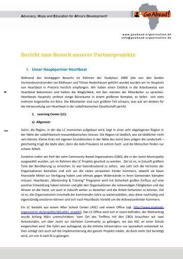 Abschlussbericht (pdf) - Go Ahead!