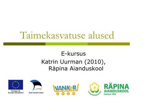Taimekasvatuse_alused.pdf - Räpina Aianduskool