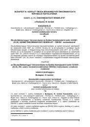12-2013 – KSZT - Rendeletek - Óbuda-Békásmegyer