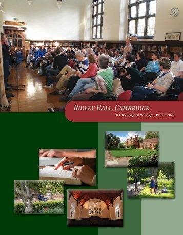 download as a pdf - Ridley Hall - University of Cambridge