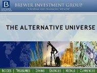 THE ALTERNATIVE UNIVERSE