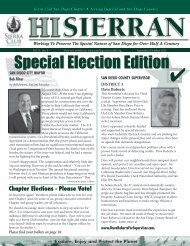 special election issue 2012 - Sierra Club: San Diego Chapter