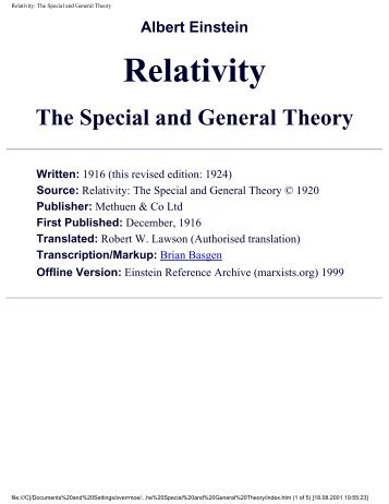 Relativity - The Special And General Theory.pdf - Pvtridvs.net