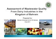 Assessment of Wastewater Quality from Dairy Industries in the ...