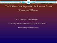 The Saudi-Arabian Regulations for Reuse of Treated Wastewater ...