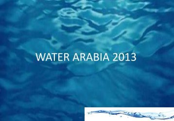 Basic Desalination Plant Design Workshop - Saudi Arabian Water ...