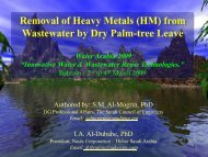 Removal of Heavy Metals
