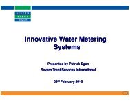 Innovative Water Metering Systems Systems