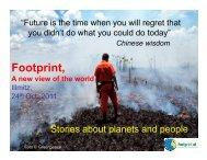 Footprint, - European schools for a living planet