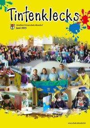 Schulblatt Juni 2013 (.pdf) - Primarschule Altendorf