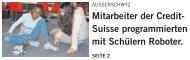 Zeitungsbericht Lego Mindstorms, 22.1.13 (.pdf) - Primarschule ...