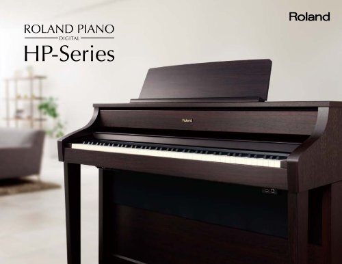 HP series catalog - Owner's Manual - Roland