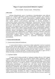 Magyar és angol szóasszociációs hálózatok vizsgálata Orosz ...