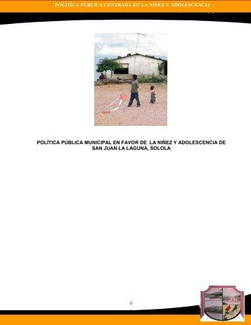 Política Pública Municipal en favor de la niñez y ... - Pami