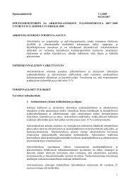 1 Opetusministeriö 7.1.2009 OPETUSMINISTERIÖN ... - Arkistolaitos