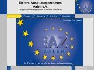 Elektro-Ausbildungszentrum Aalen eV - SensorLab - Institut für ...