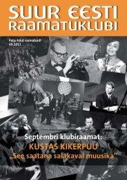 KUSTAS KIKERPUU - Suur Eesti Raamatuklubi