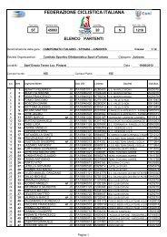 10 PARTENTI Juniores M.pdf - Settimana Tricolore