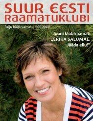 ERIKA SALUMÄE. Jääda ellu! - Suur Eesti Raamatuklubi