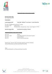 04 regolamento juniores m in linea.pdf - Settimana Tricolore