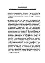 Gyorstájékoztató a Felsőoktatási Kerekasztal 2008 ... - NymE - SEK