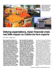 Defying expectations, Asian financial crisis had little impact on ...
