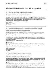 Anträge der SPD-Fraktion Berlin-Mitte für die ...