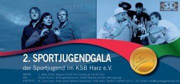 2. Sportjugendgala - Sportjugend Harz