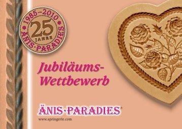 Wettbewerb zum 25-jährigen Jubiläums des Änis-Paradies (PDF)