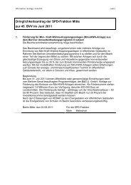 BVV-Unterlagen aus dem Juni 2011 - SPD-Fraktion Berlin-Mitte