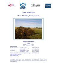 Meeting Report January 26th 2012 - Scottish Organic Producers ...