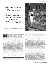 Archetypal Patterns: Snow White - C.G. Jung Society of Atlanta