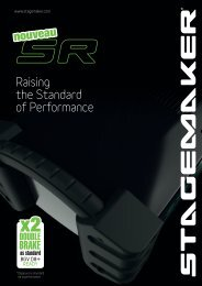 Raising the Standard of Performance* - Verlinde SA