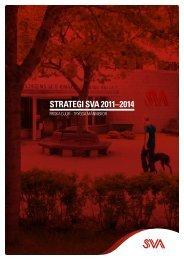 SVA:s vision och strategi 2011-2014 (pdf)