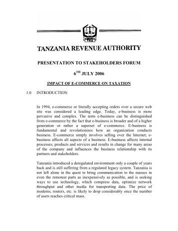the case of tanzania essay Research paper on case laws of fraud, forgery and corruption in banks and financial institutions in india  research paper on case laws of fraud, forgery and corruption in banks and financial institutions in  54 | page i nv subarao v state of andhra pradesh1 facts of the case are as under: that a case was registered against shvn.