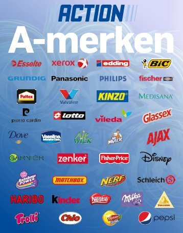 Action A-merken folder