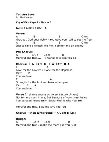 Eye Of The Tiger Chords