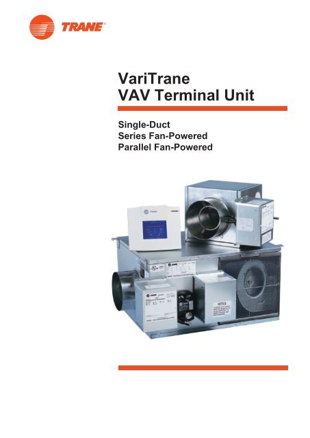 VariTrane VAV Terminal Unit on