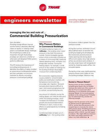 Trane Engineers Newsletter vol 31-2 (ADM-APN003-EN)